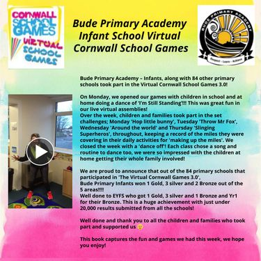 Bude Primary Infants Cornwall Games 3.0