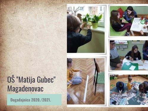 """OŠ """"Matija Gubec"""" Magadenovac - Događajnica 2020./21."""