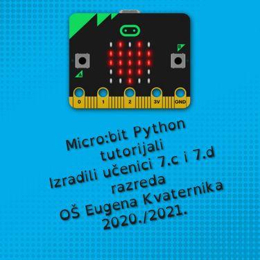 Micro:bit Python tutorijali