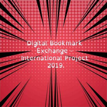 Digital Bookmark Exchange 2019 - 5.c i 5.d