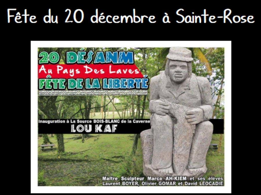 Fête du 20 décembre à Sainte-Rose