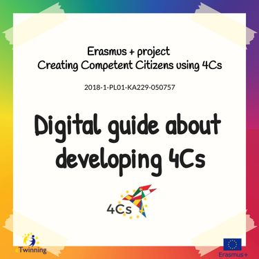 Digital guide about developing 4Cs