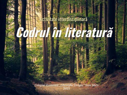 Codrul în literatură