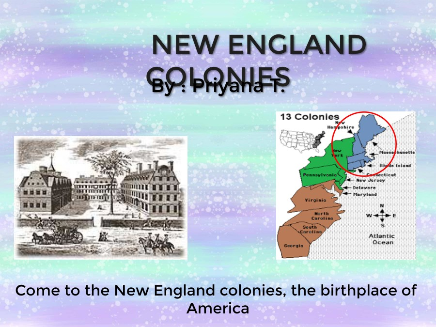 New England Colonies
