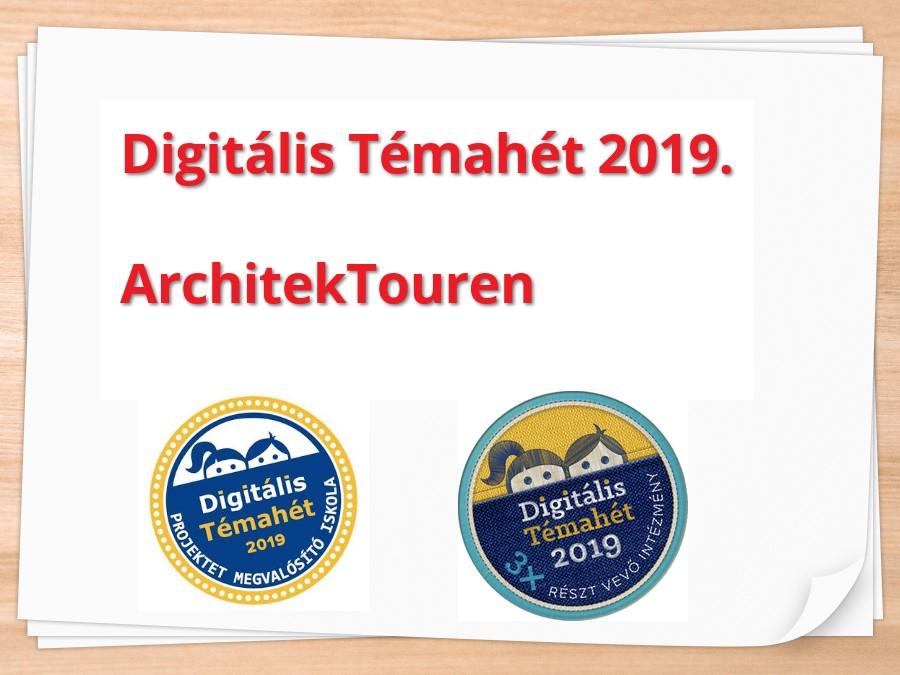 Digitális Témahét - ArchitekTouren