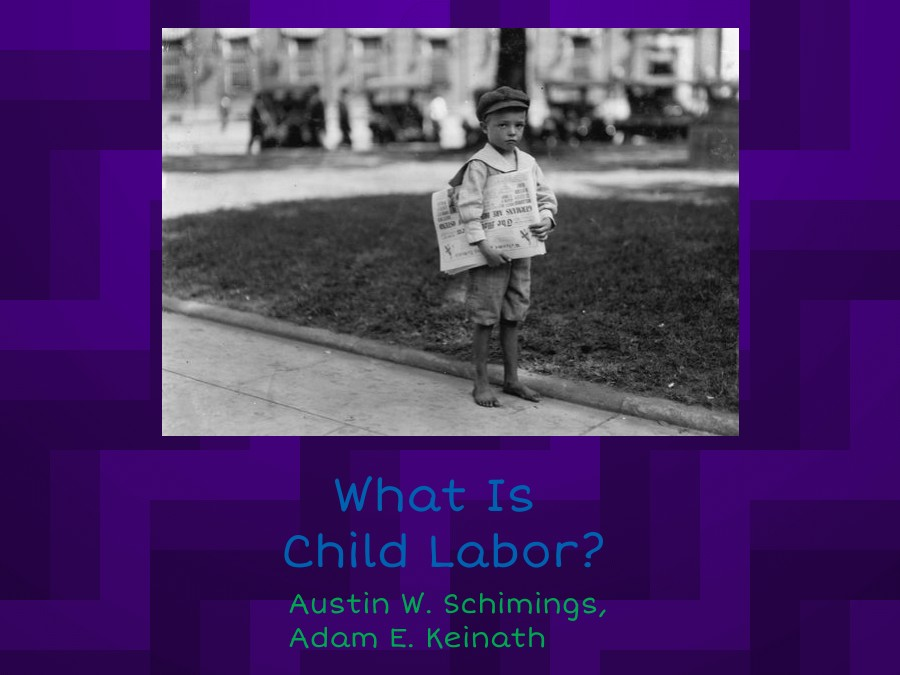 What Is Child Labor