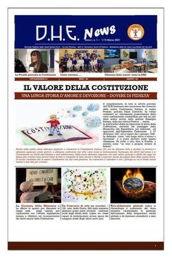 DHE NEWS Anno 1 N. 1