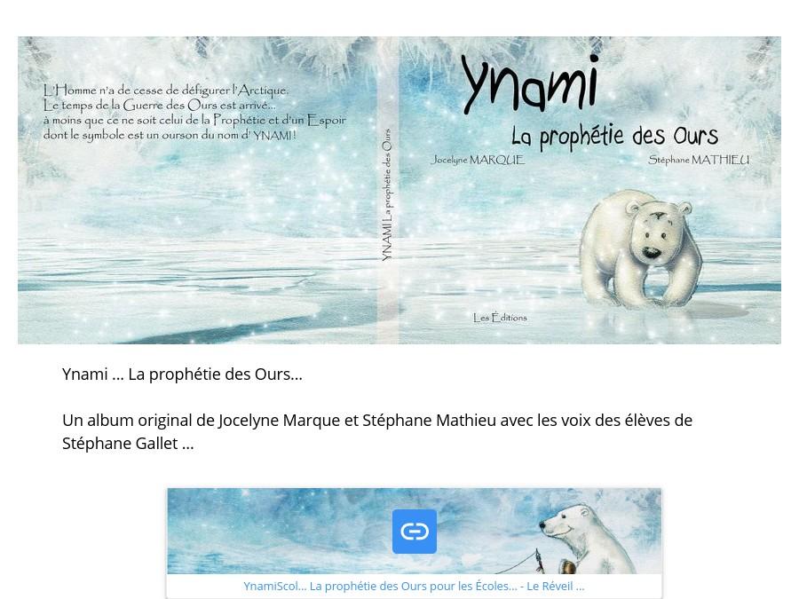 Ynami... La Prophétie des Ours...