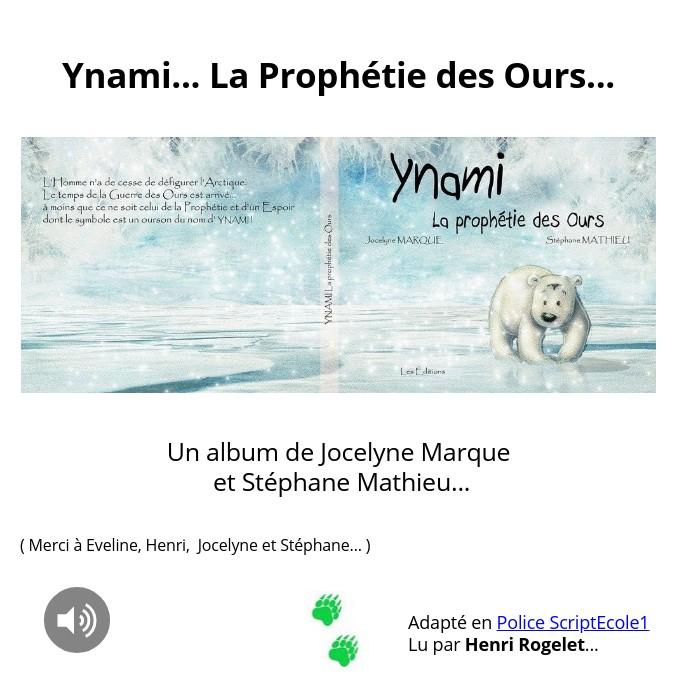 YnamiScol... La Prophétie des Ours