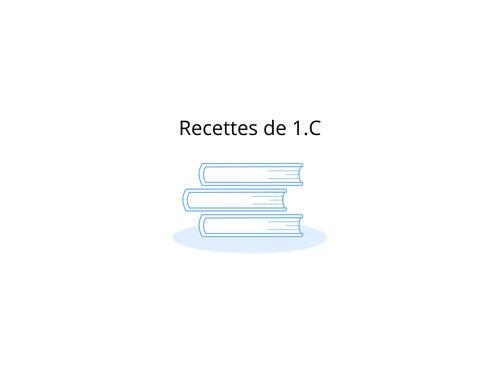 Recettes de 1.C