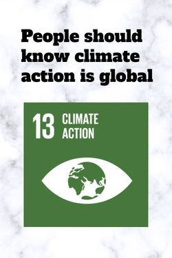 climate action is global