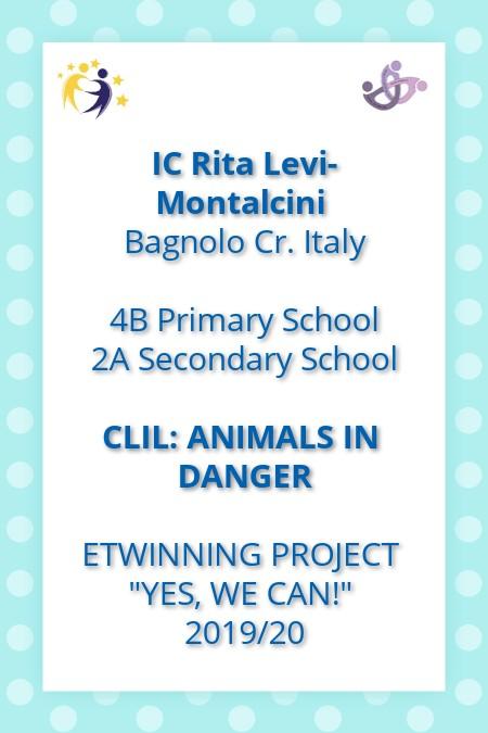 CLIL: Animals in Danger