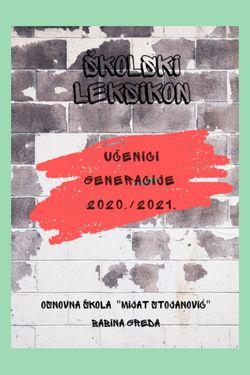 Učenici generacije 2020./2021.