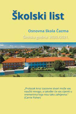 Školski list - OŠ Čazma