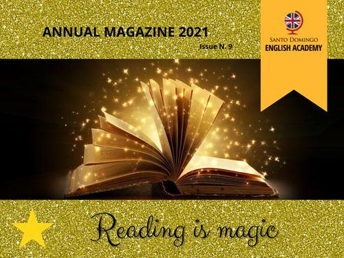 Revista Anual, READING IS MAGIC!