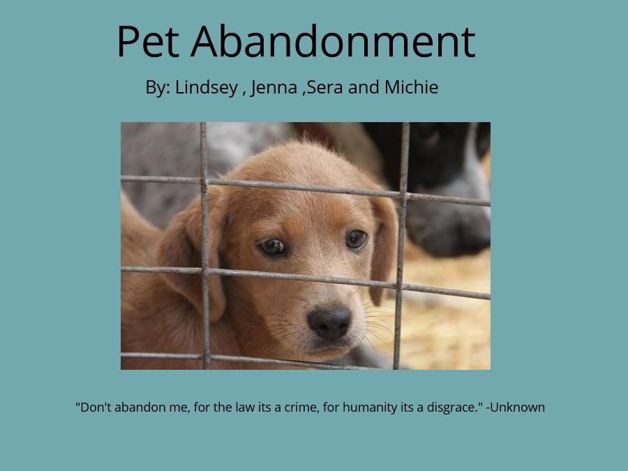 Pet Abandonment