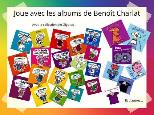 Joue avec les albums de Benoît Charlat