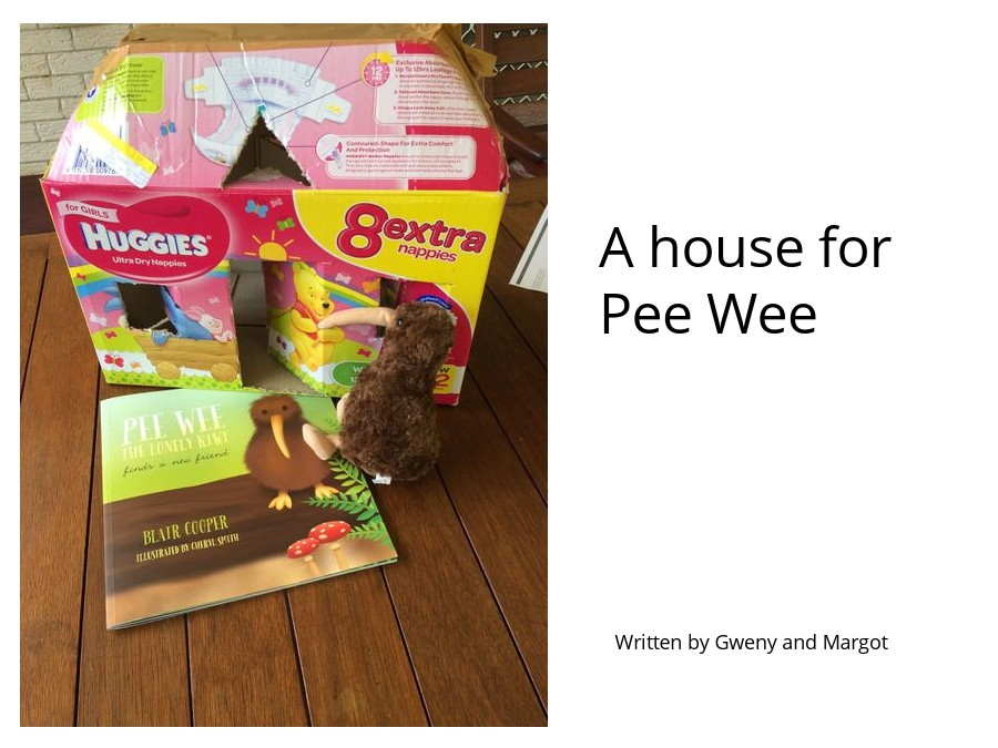 A house for Pee Wee