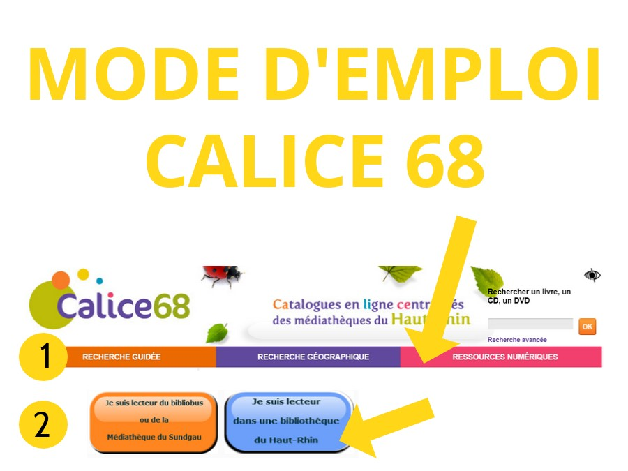 mode d'emploi Calice68