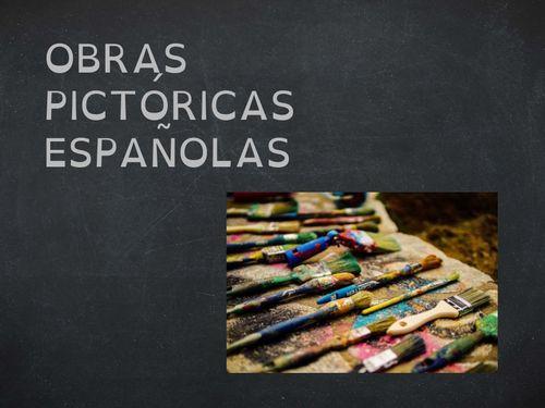 obras pictóricas españolas