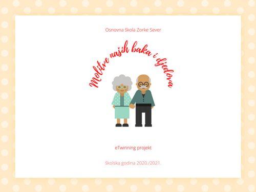 OŠ Zorke Sever - Molitve naših baka i djedova