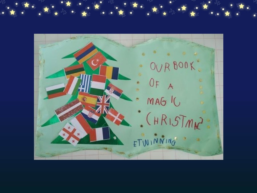 Project Our Book of a magic Christmas