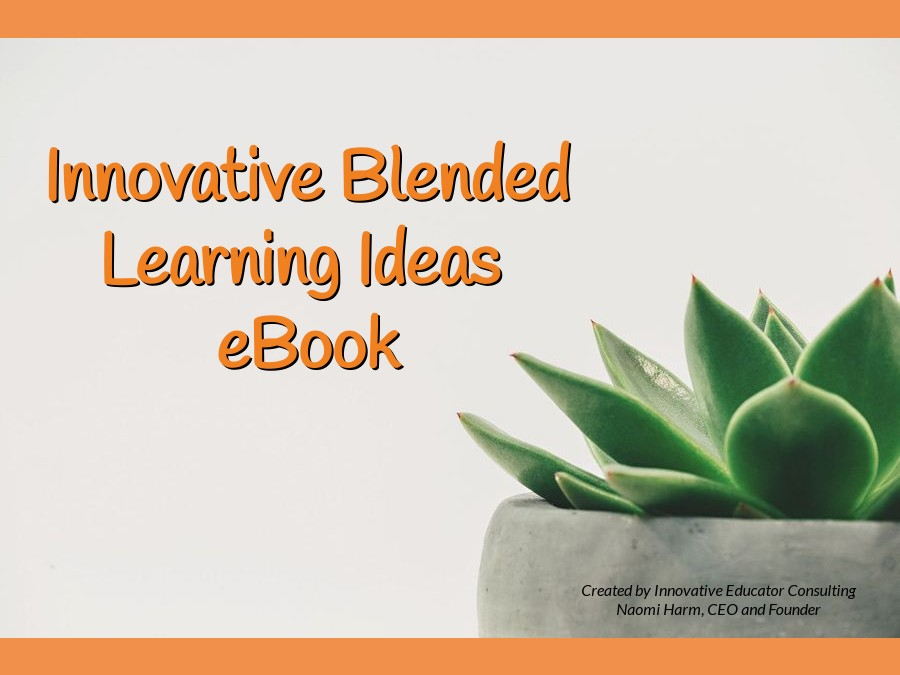 Innovative Blended Learning Ideas Book