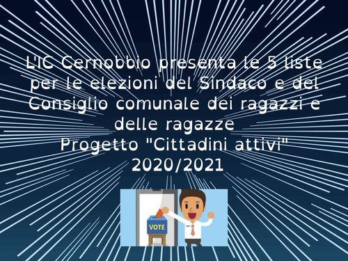 Elezioni Sindaco e CCR 26 aprile 2021