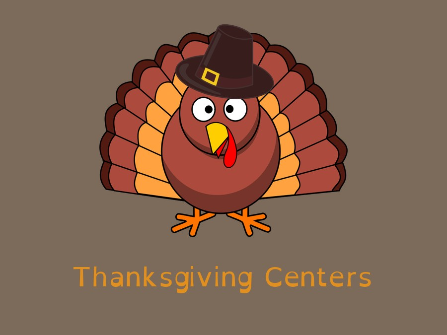 3rd Grade Thanksgiving Centers