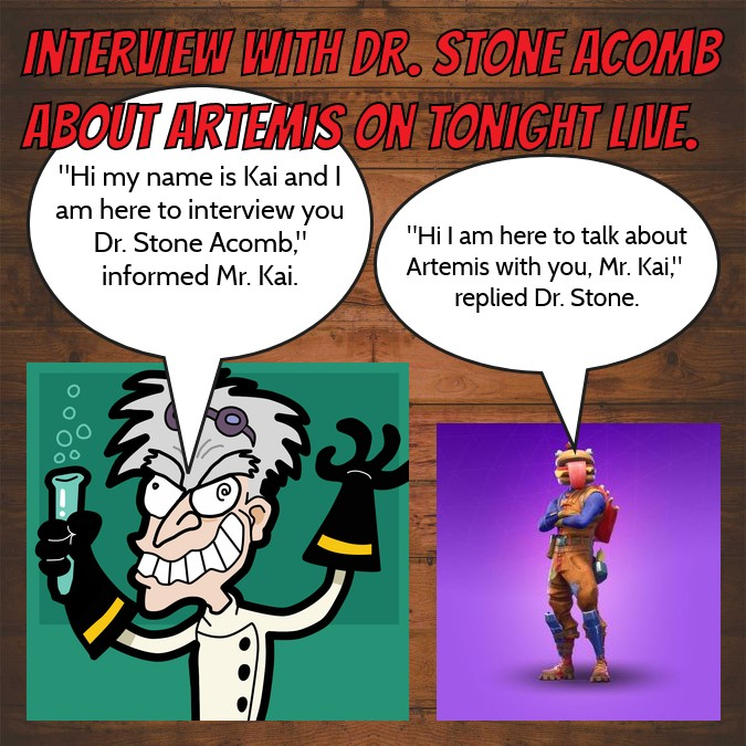 Interview With Dr. Stone Acomb