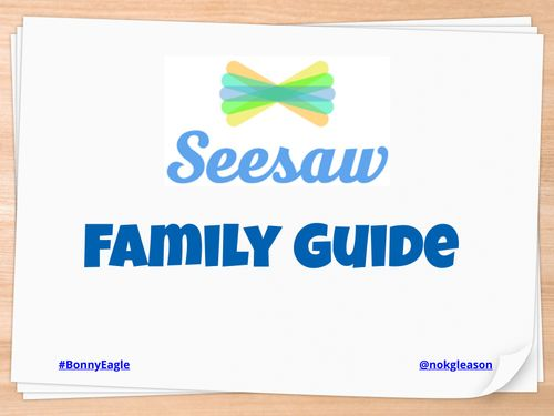 Seesaw Family Guide