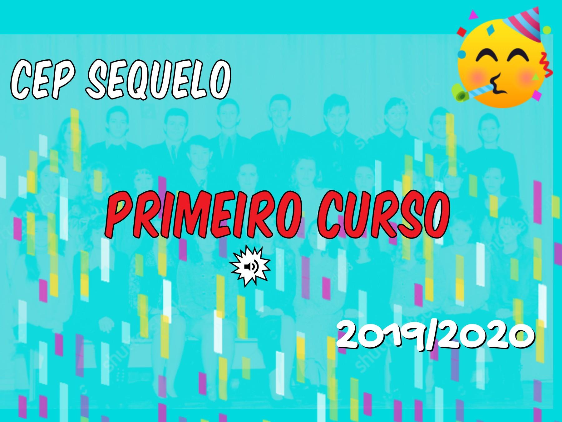 CEP SEQUELO. LIBRO  DE PRIMEIRO 2019/20