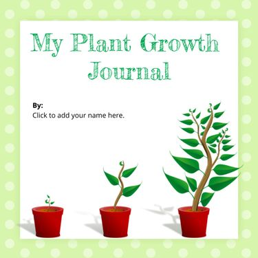 My Plant Growth Journal