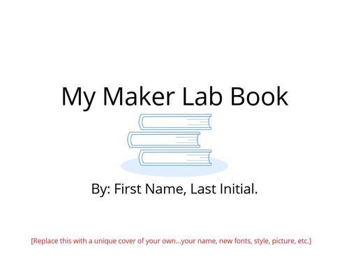 Maker Lab Book template