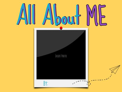All About ME JK/Primary