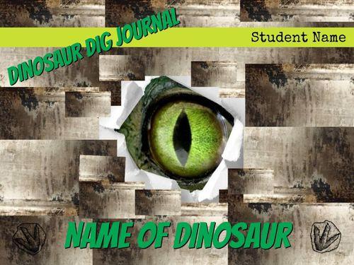 Dinosaur Dig Journal