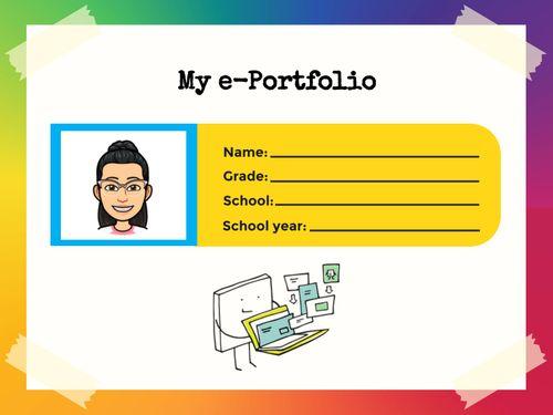 e-Portfolio Template