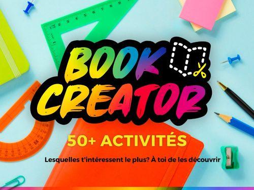 50 activités avec Book Creator