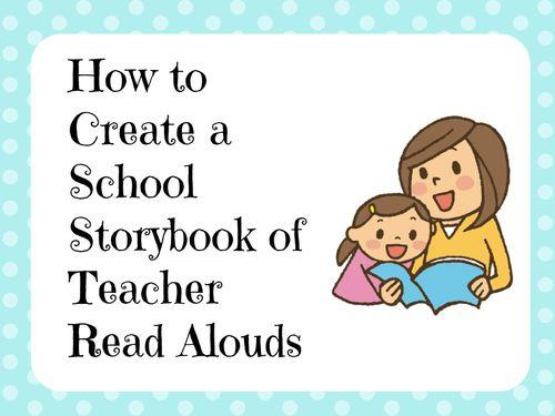 Creating School Storybooks