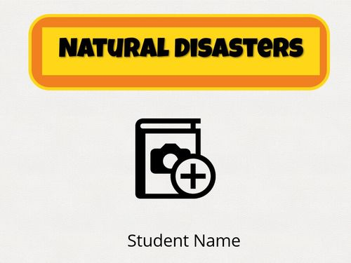 Natural Disasters Template