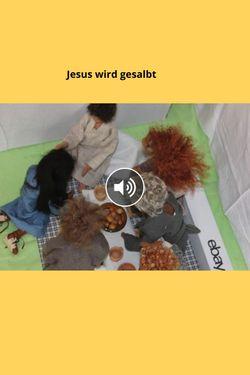 Jesus wird gesalbt