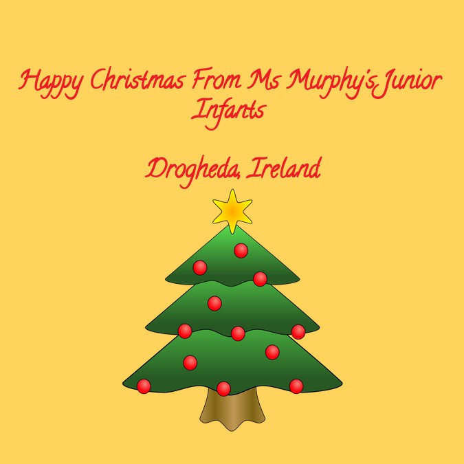 Happy Christmas From Ireland
