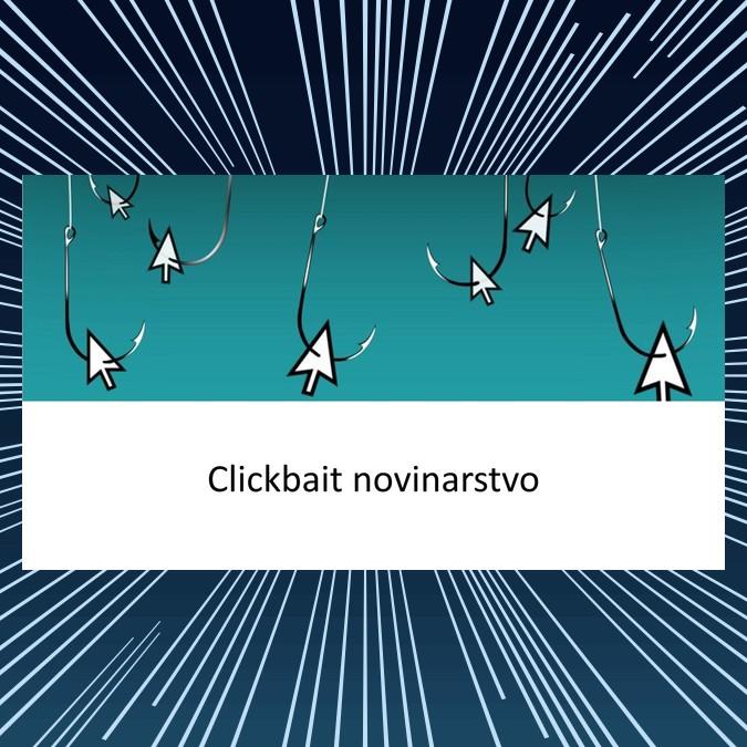 Clickbait novinar - klikolovac