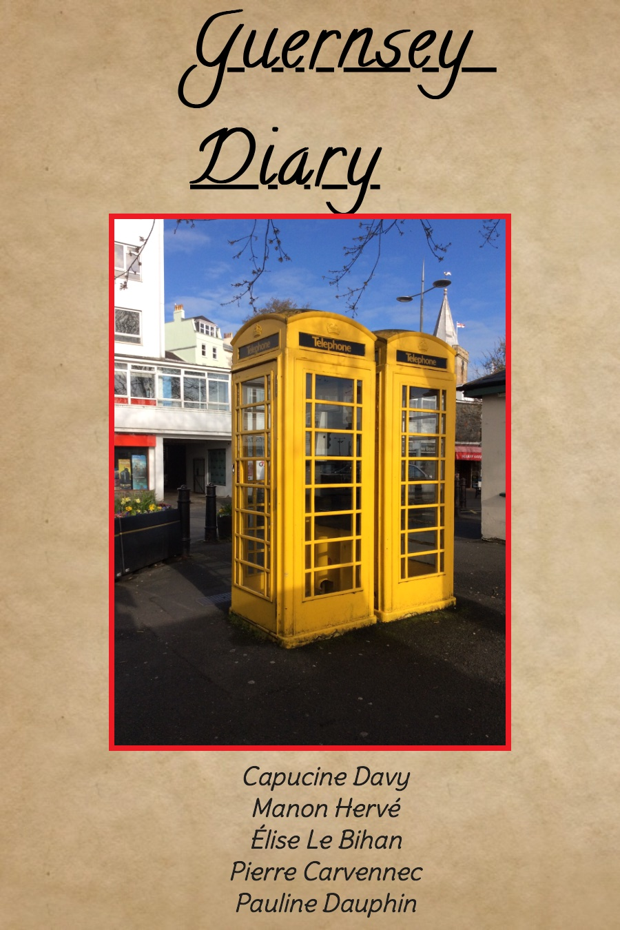 Guernsey Diary