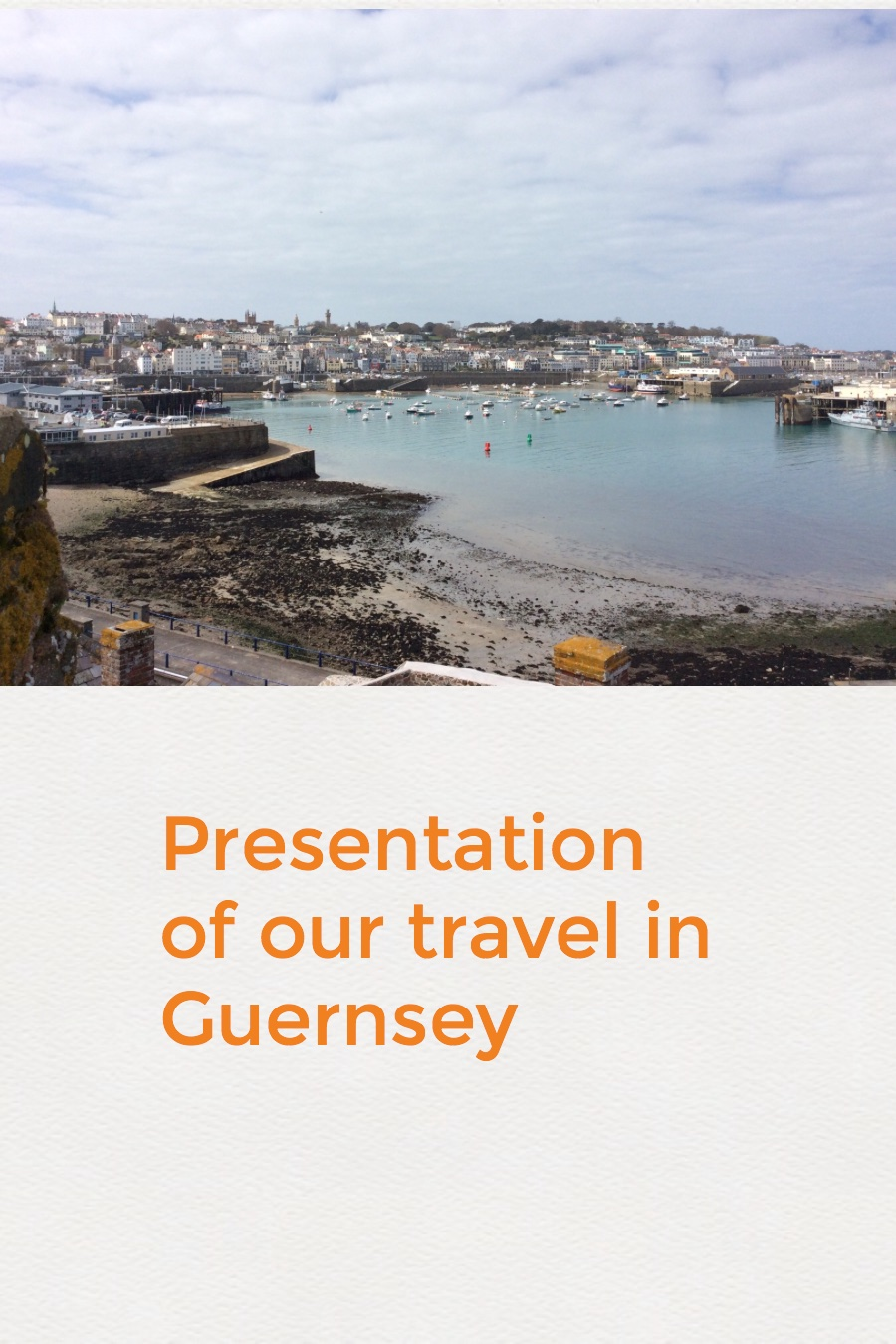 Our travel in Guernsey