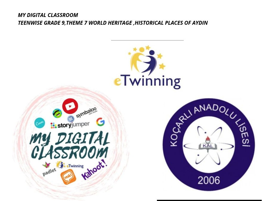 MY DIGITAL CLASSROOM ,APRIL ACTIVITY E-BOOK CREATION