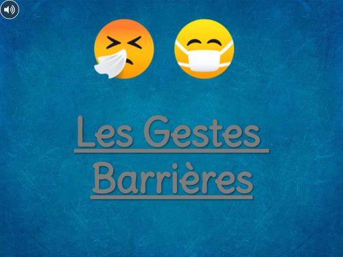 Le Gestes Barrières