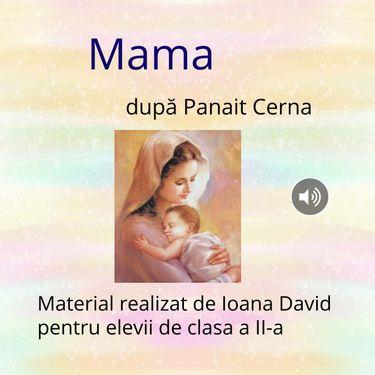Mama - poezie de Panait Cerna
