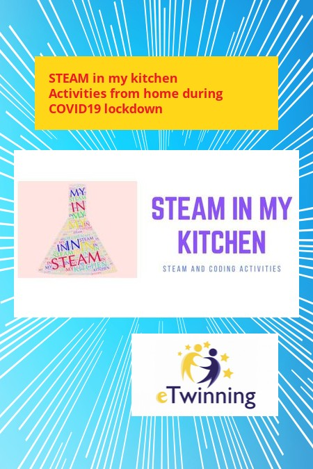 STEAM in my kitchen activities from home