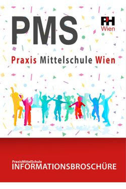 Informationsbroschüre der PMS Wien